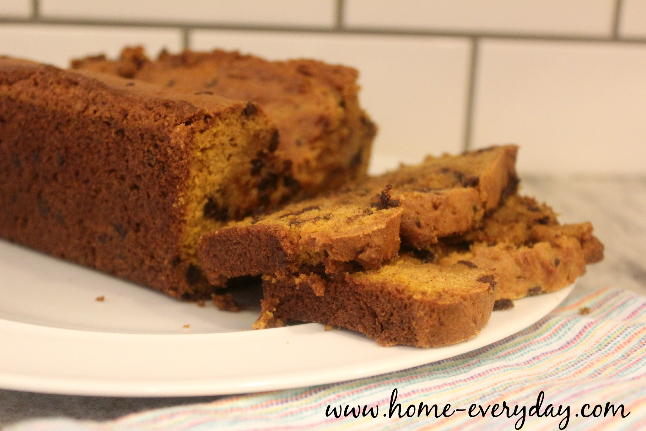 Chocolate Chip Pumpkin Bread 1