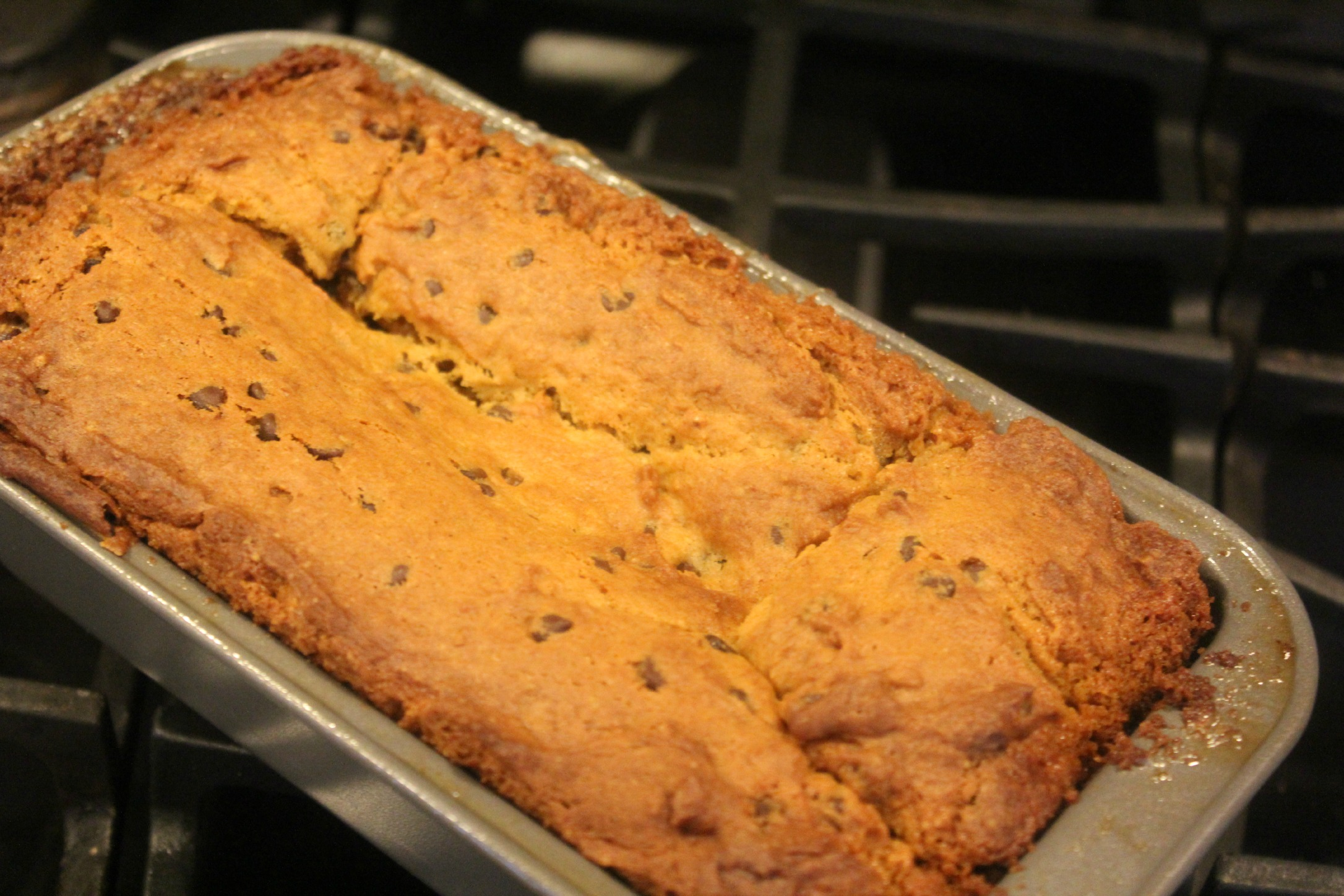 Chocolate Chip Pumpkin Bread 12