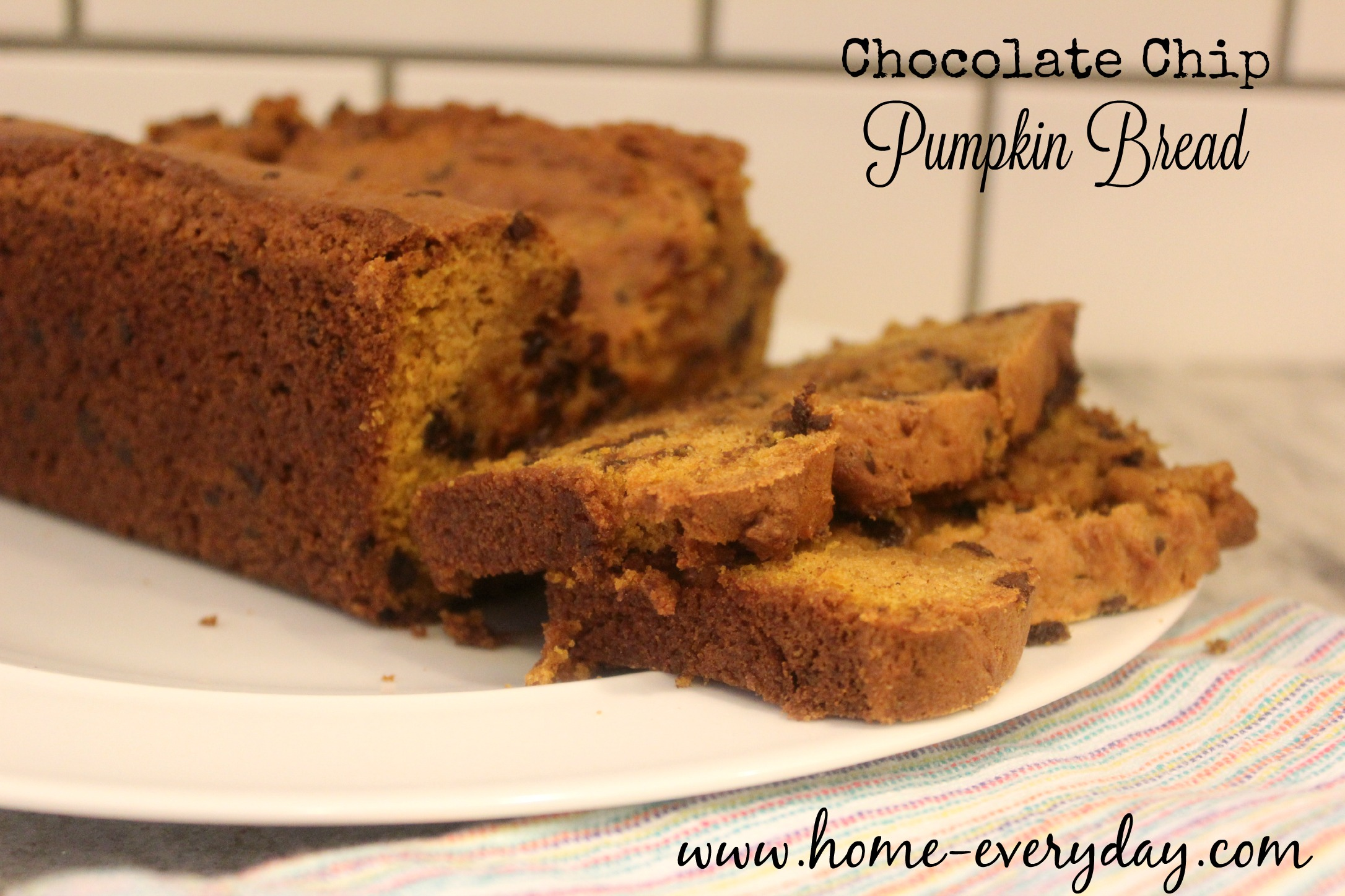 Chocolate Chip Pumpkin Bread 2
