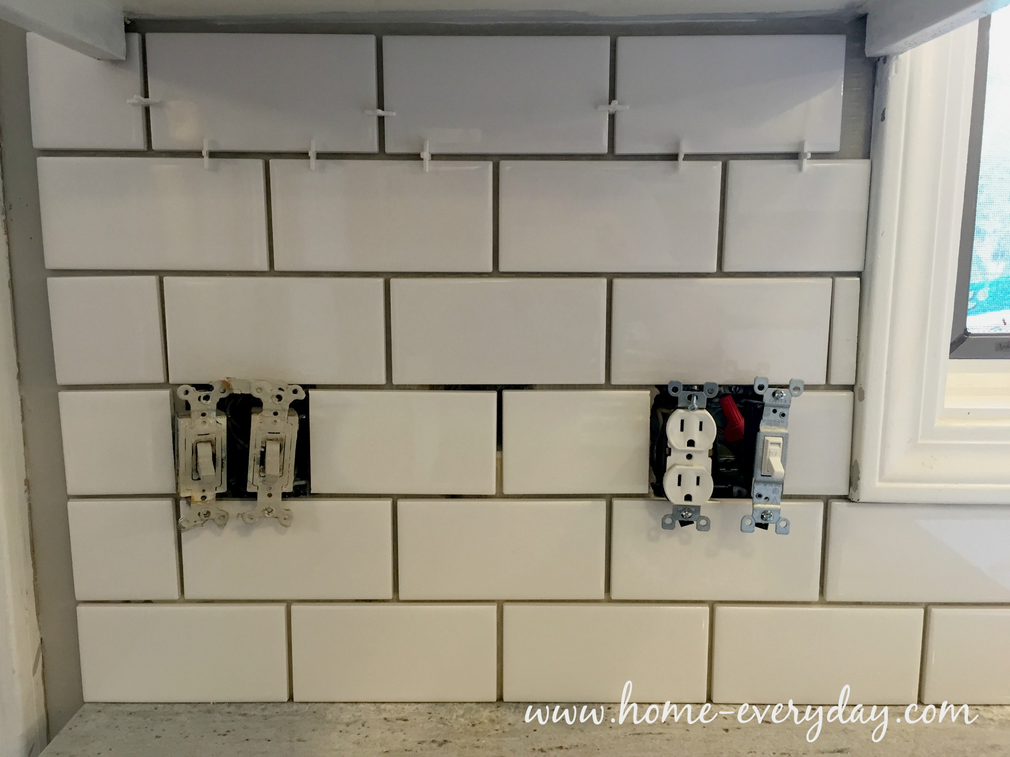 Backsplash without Thinset 19