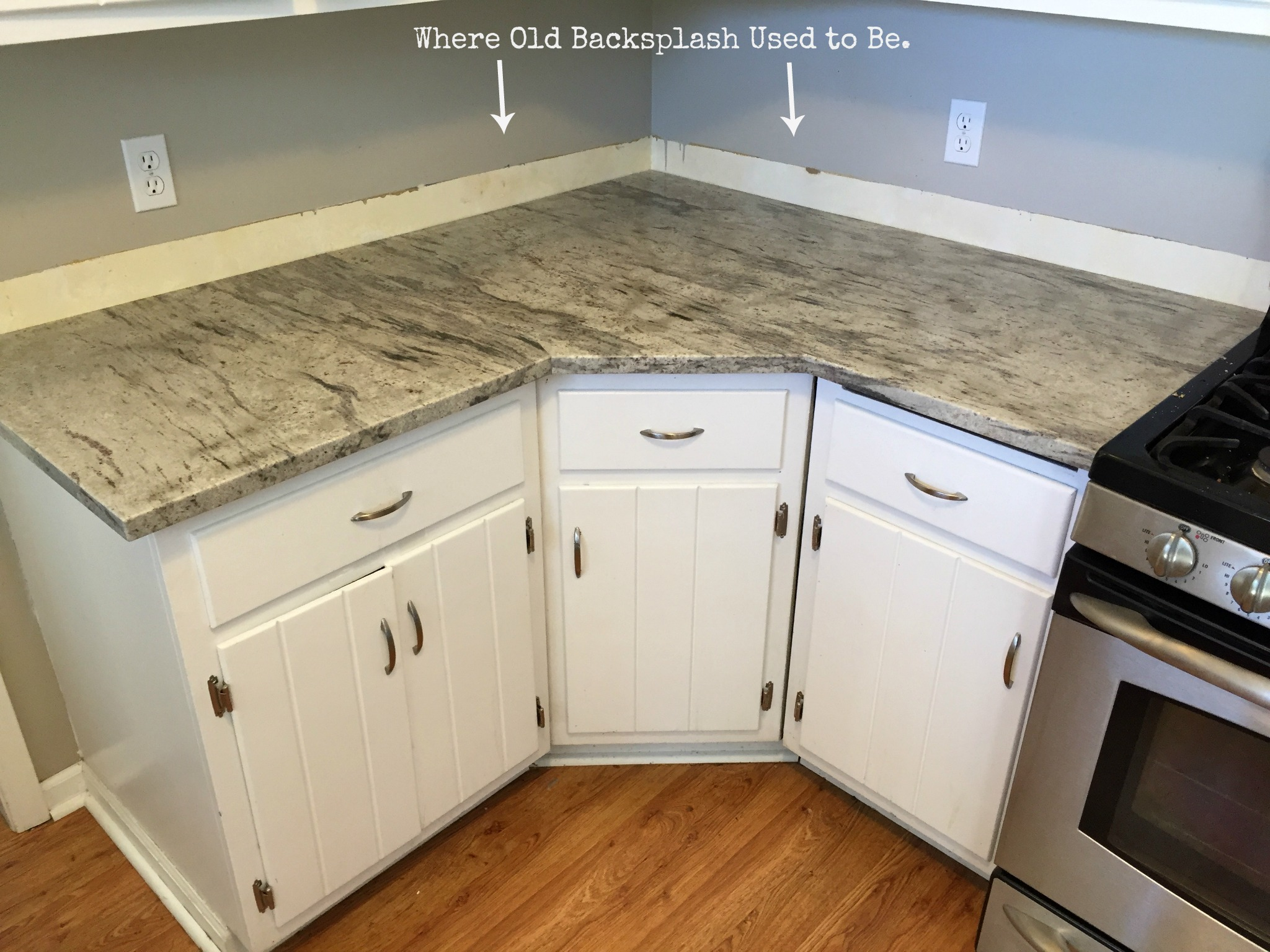 backsplash without thinset 9 - No Backsplash In Kitchen