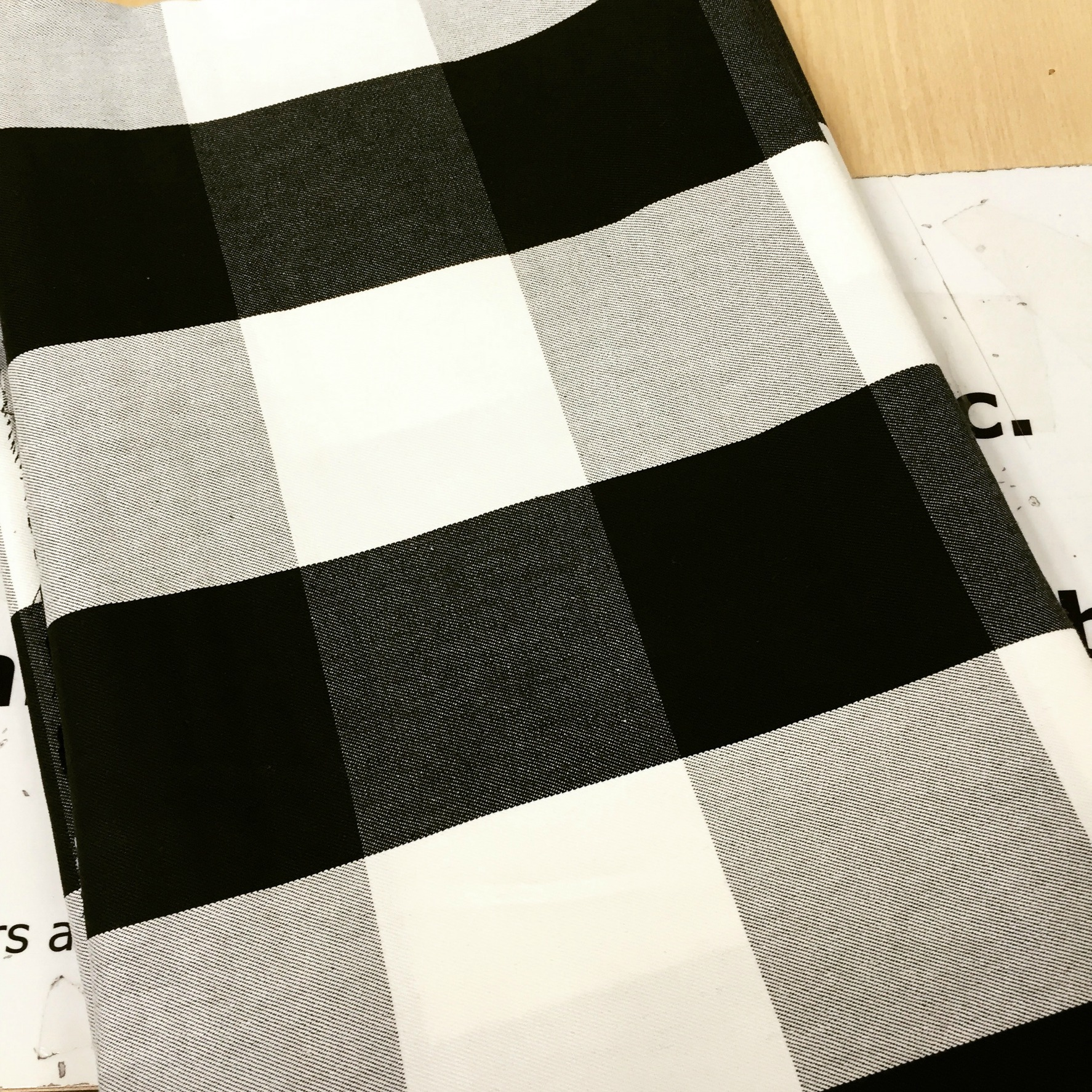 Buffalo Check Is My New Obsession Or How I Made No Sew